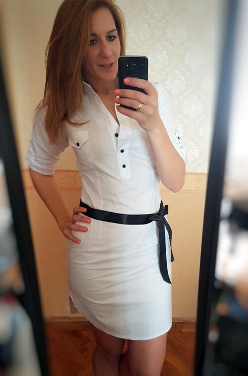 882c473c3c Fehér ingruha - Ruha - Divatos ruhák magas nőknek - Magasnőknek.hu ...