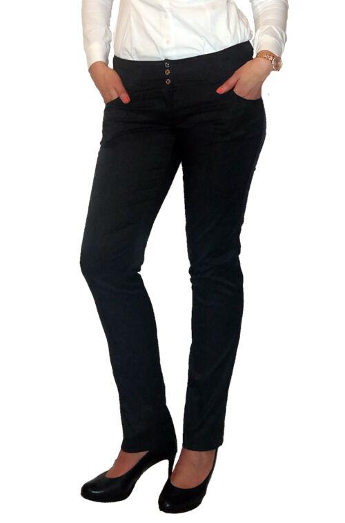 dd98b265ca Fekete elegáns nadrág - Elegáns nadrágok - Divatos ruhák magas ...