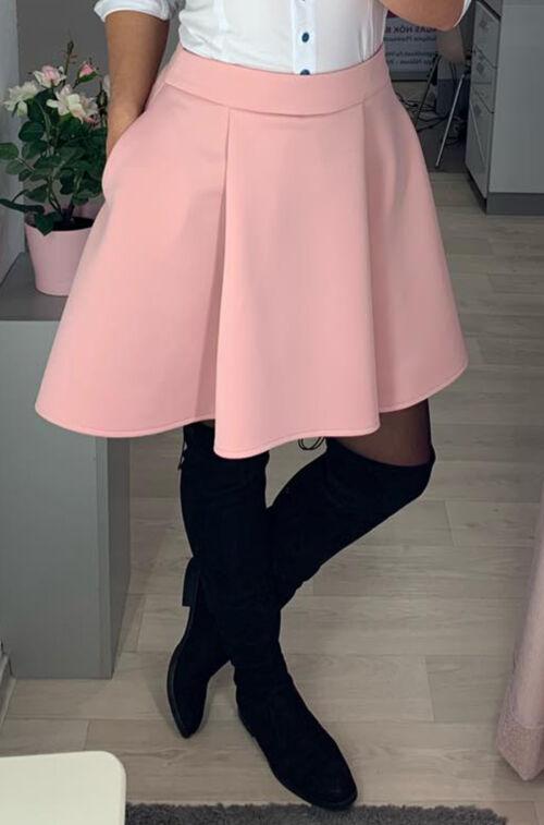 5cd7f4a601 Rózsaszín szoknyácska - Szoknya - Divatos ruhák magas nőknek ...